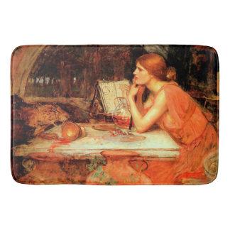 """The Sorceress"" by Waterhouse Bathmat"