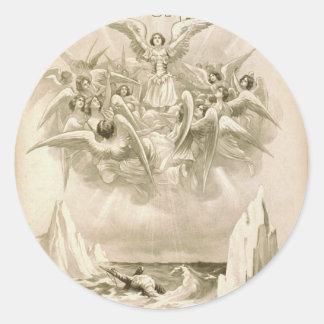 The Sorrows of Satan Retro Theater Sticker
