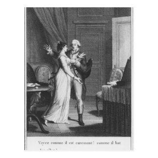 The Sorrows of Werther' Postcard