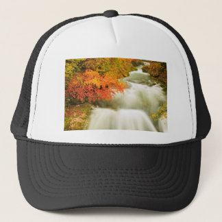 The Soteska Vintgar gorge in Autumn Trucker Hat
