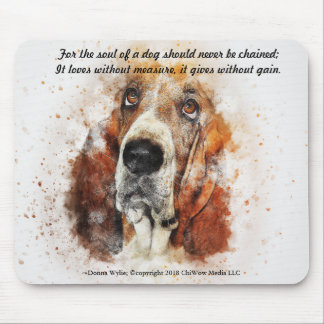 The Soul of a Dog Mouse Pad