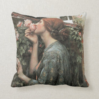 The Soul of the Rose by Waterhouse Pillow