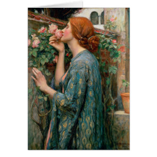 The Soul of the Rose - John William Waterhouse Card