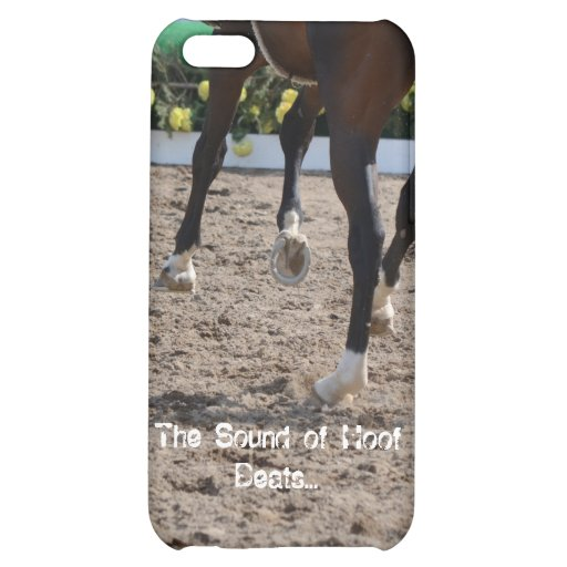 The Sound of Hoof Beats - I Phone 5 Case For iPhone 5C