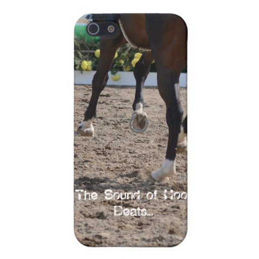 The Sound of Hoof Beats - I Phone 5 iPhone 5 Covers