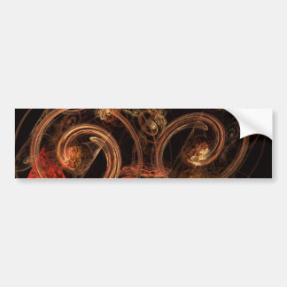 The Sound of Music Abstract Art Bumper Sticker