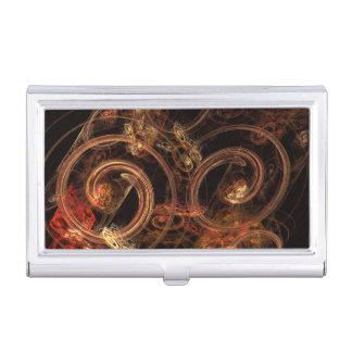 The Sound of Music Abstract Art Business Card Cases