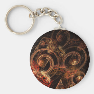 The Sound of Music Abstract Art Keychain