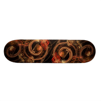 The Sound of Music Abstract Art Skateboard