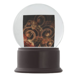 The Sound of Music Abstract Art Snow Globe
