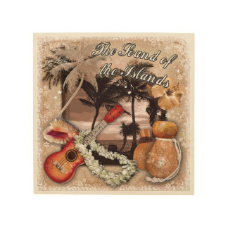 The Sound of the Islands Wood Print