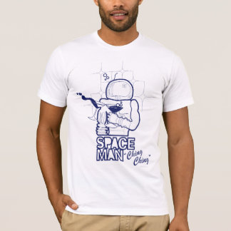 The Sound Two Martini Glasses Make in Space T-Shirt