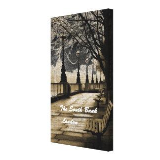 The South Bank - London Canvas Print