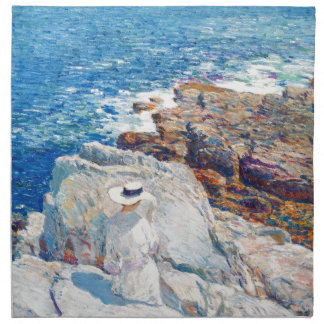 The South Ledges, Appledore by Childe Hassam Napkins