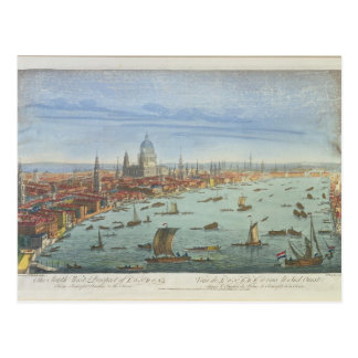 The South West Prospect of London, from Somerset G Postcard