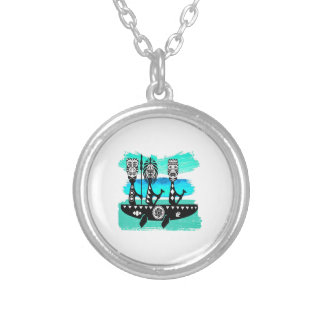 THE SOUTHERN PASSAGE SILVER PLATED NECKLACE