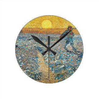 The Sower by the Dutch painter Vincent van Gogh Wallclock