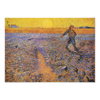 The Sower by Vincent van Gogh Card