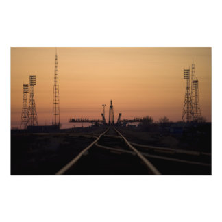 The Soyuz launch pad Photo Print