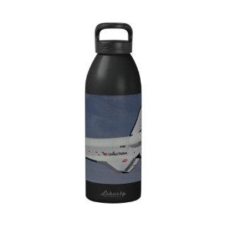 The Space Shuttle Returns Water Bottle