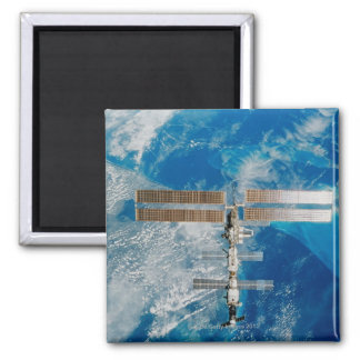 The Space Station Square Magnet