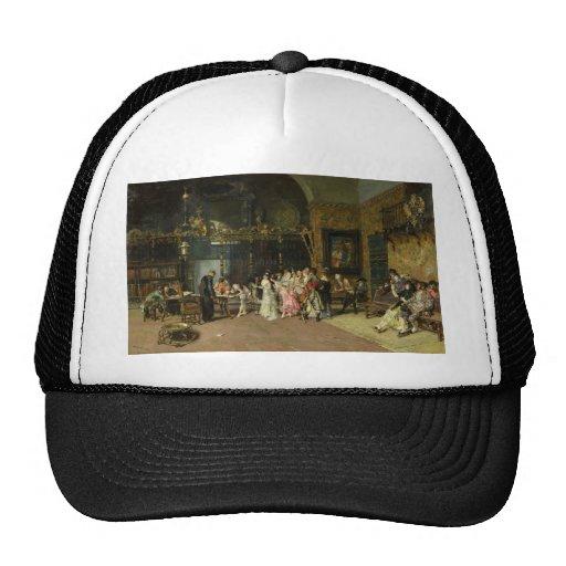 The Spanish Wedding La Vicaría by Mariano Fortuny Hat