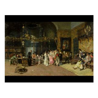 The Spanish Wedding La Vicaría by Mariano Fortuny Postcard