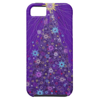 The Sparkling Xmas Tree. Tough iPhone 5 Case