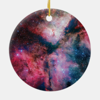 The spectacular star-forming Carina Nebula Ceramic Ornament