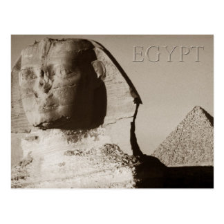 The Sphinx and the Pyramid of Menkaure, Egypt Postcard