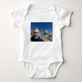 The Sphinx, Bucegi Mountains, Romania (design #2) Baby Bodysuit