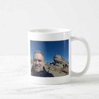 The Sphinx, Bucegi Mountains, Romania (design #2) Coffee Mug