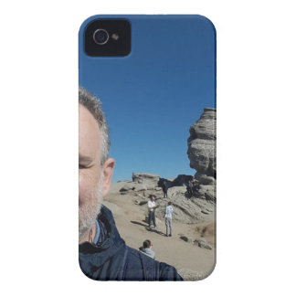 The Sphinx, Bucegi Mountains, Romania (design #2) iPhone 4 Case
