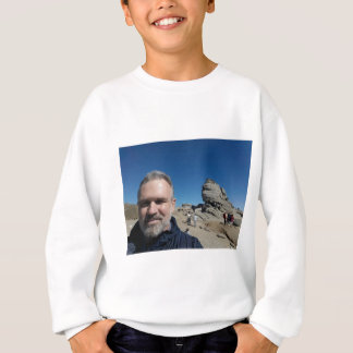 The Sphinx, Bucegi Mountains, Romania (design #2) Sweatshirt
