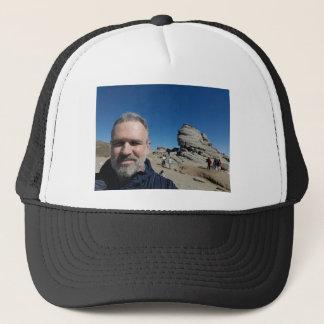 The Sphinx, Bucegi Mountains, Romania (design #2) Trucker Hat