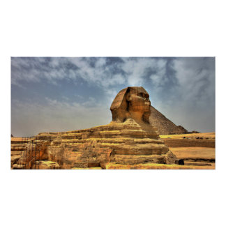 The Sphinx of Egypt Print