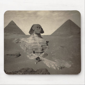 The Sphinx of Giza Partially Excavated Mousepads