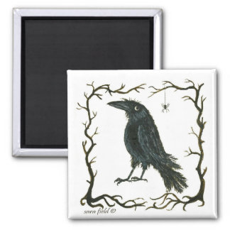 the spider & the crow magnet