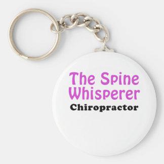 The Spine Whisperer Chiropractor Key Ring