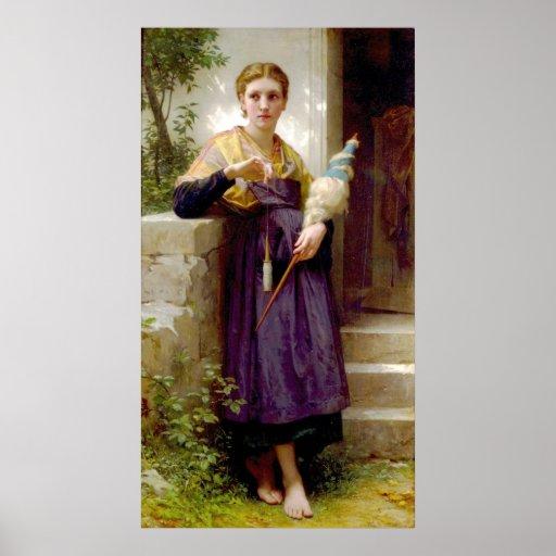 The Spinner (1873) Poster