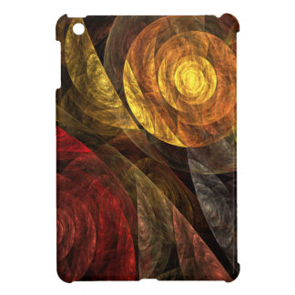 The Spiral of Life Abstract Art iPad Mini Case