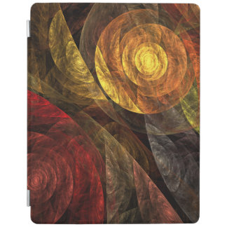 The Spiral of Life Abstract Art iPad Smart Cover