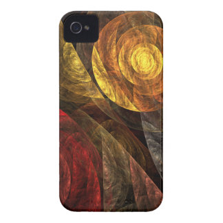 The Spiral of Life Abstract Art iPhone 4 / 4S iPhone 4 Case-Mate Case