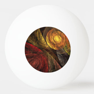 The Spiral of Life Abstract Art Ping Pong Ball