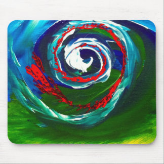 The Spiral Wave of Infinity Mouse Pad
