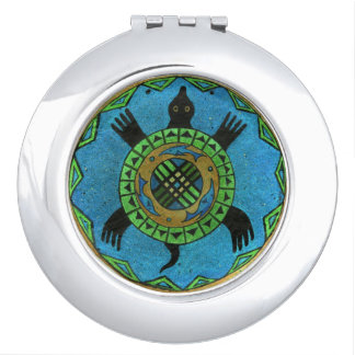 The Spirit Guide Totem Compact Mirror