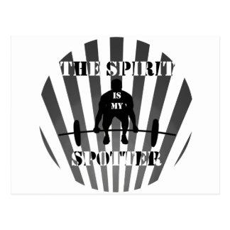 The Spirit is My Spotter Postcard