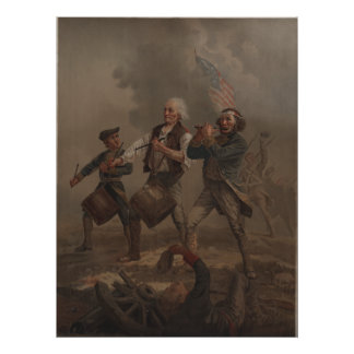 The Spirit of '76 (Yankee Doodle) by A.M. Willard Poster