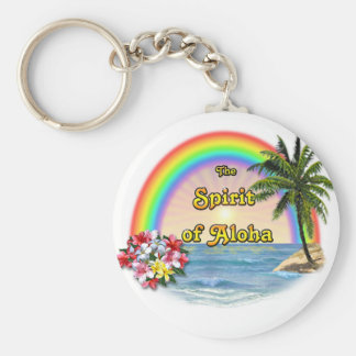 The Spirit of Aloha Key Ring