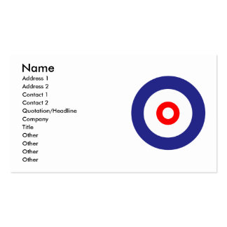 The spirit of Curling Business Cards